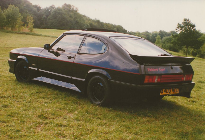there is no such thing as a tickford capri